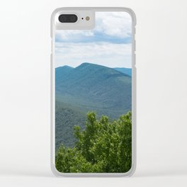 Shenandoah Valley, Virginia (Panoramic) Clear iPhone Case