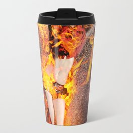 I Am The Fyre Travel Mug