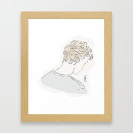 Even Bech Naesheim Framed Art Print
