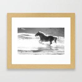 Snow1 Framed Art Print