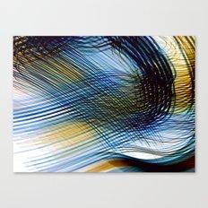 Colored shadows Canvas Print