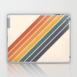 Arida -  70s Summer Style Retro Stripes Laptop & iPad Skin