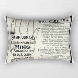 Righteous Rheumatism Rectangular Pillow