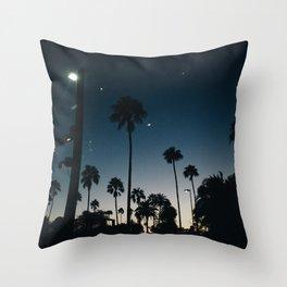 Midnight Sunset Throw Pillow