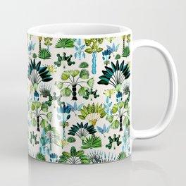 Exotic Garden Green Coffee Mug