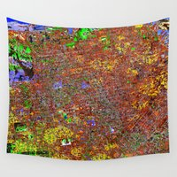 san francisco Wall Tapestries featuring san francisco by donphil