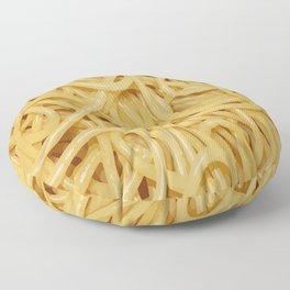 Novelty Spaghetti Pasta Noodles Floor Pillow