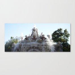 Fuente agua en La Granja Canvas Print