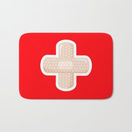 First Aid Plaster Bath Mat