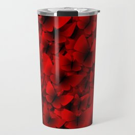 red butterflies Travel Mug