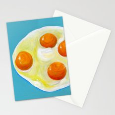 Four Fried Eggs  Stationery Cards