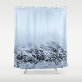 Letting go -  cold comfort in Glencoe Shower Curtain