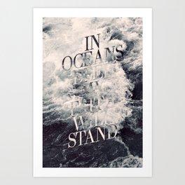 In Oceans Deep Art Print