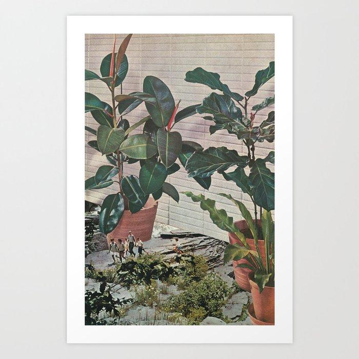 Plantlife - Safari Art Print