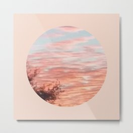 Texas Hill Country Sky - Sunrise 4 - Window Metal Print