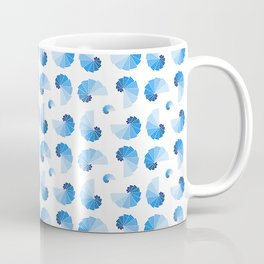 Symmetric patterns 168 blue Coffee Mug
