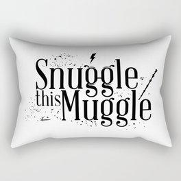 Snuggle this Muggle Rectangular Pillow