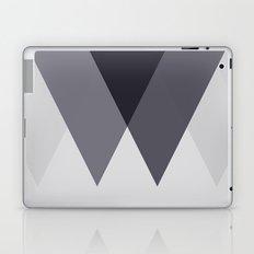 Sawtooth Blue Grey Laptop & iPad Skin