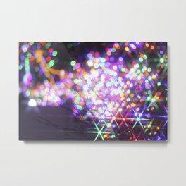 Christmas Lights! Metal Print