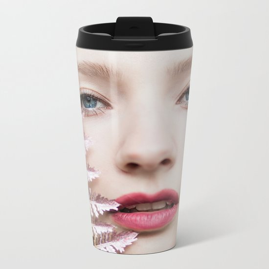 Glitter Metal Travel Mug