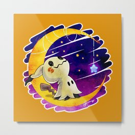 Wish Upon A Mimikyu Metal Print
