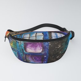 Doctor Who Tardis Painting Fanny Pack