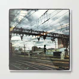 Hoboken Train Station Metal Print