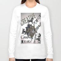 pixel Long Sleeve T-shirts featuring Pixel by VERTIgO