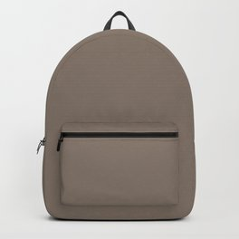 SOLID TAUPE COLOR Backpack