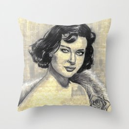 Gia Scala Throw Pillow
