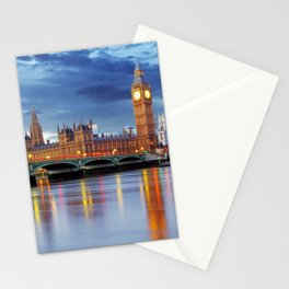 Big Ben and the Houses of Parliament, London Stationery Cards