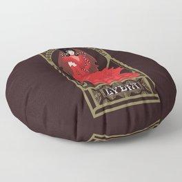 Lydia Nouveau - Beetlejuice Floor Pillow