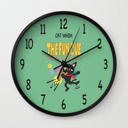 The fun cue Wall Clock