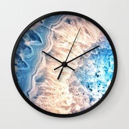 Galaxy Crystal / Space Crystals / Hippie Crystals Wall Clock