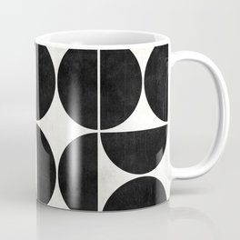 Mid-Century Modern Pattern No.1 - Concrete and Wood Coffee Mug