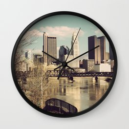 Columbus Ohio 3 Wall Clock
