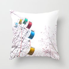 De Fair Throw Pillow