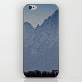 Teton iPhone Skin