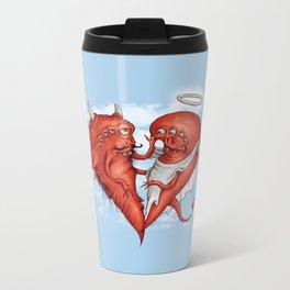 Love at fifth sight Metal Travel Mug