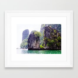 Cliffs in Thailand Fine Art Print  • Travel Photography • Wall Art Framed Art Print