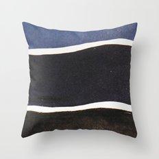 Deep Blue Sea Throw Pillow