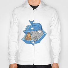 The Blue Whale in the Room Hoody