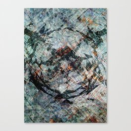 iDeal - Chaos Theory - Slate Canvas Print
