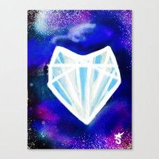 Hearts or Diamonds, I'll Take Diamonds Canvas Print