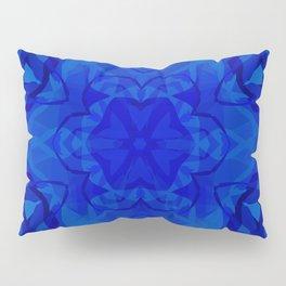 Blue kaleidoscope 2 Pillow Sham