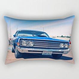 Fairlane blue Rectangular Pillow