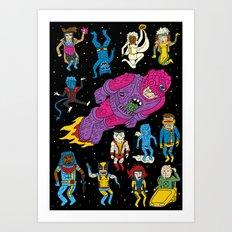 X-Men Alive! Art Print