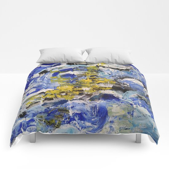 Abstract painting 5 Comforters