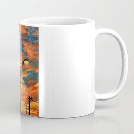 Street Meets Sky  Coffee Mug