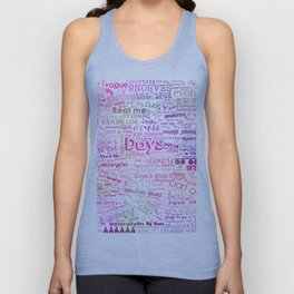 Under the same sky... (Color) Unisex Tank Top